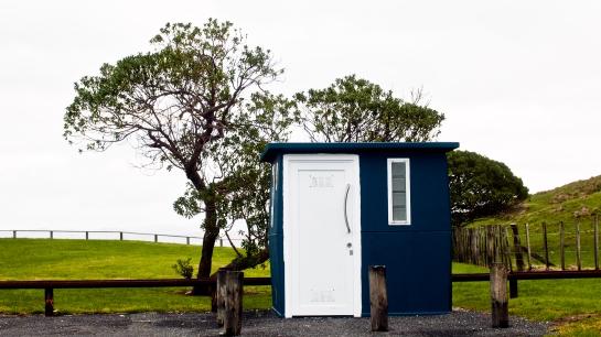 Sponge Bay toilet