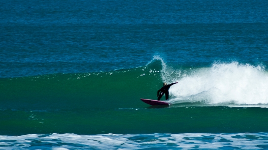 Abi's lunchtime surf