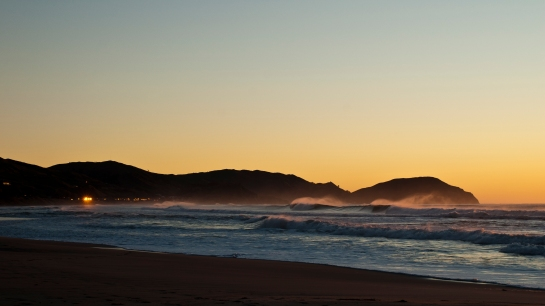 orange glow Wainui