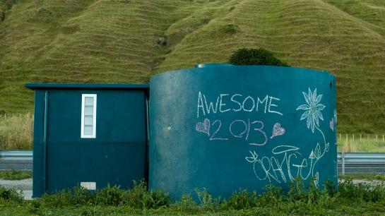 hippy toilet tank