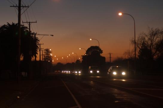 5pm traffic