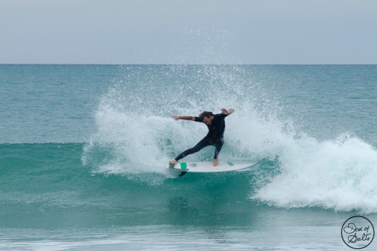 Bobby destroys a wave