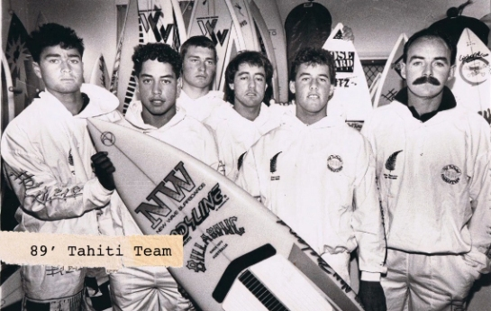 Tahiti team